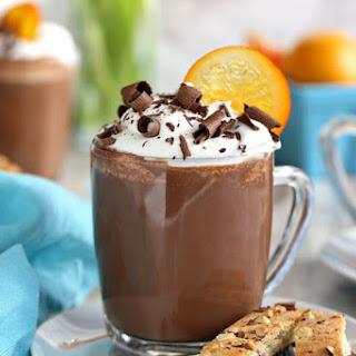 Orange Hot Chocolate.