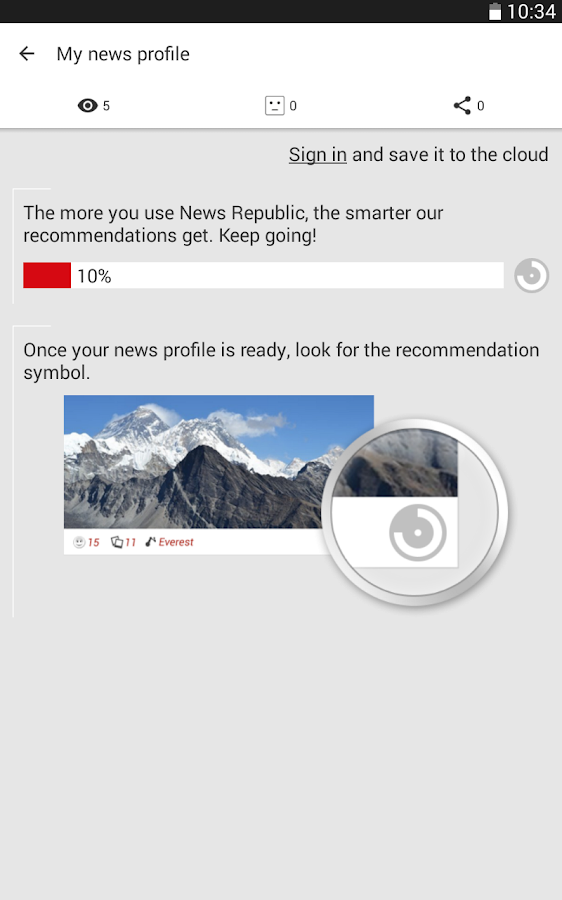 News Republic – Breaking news - screenshot