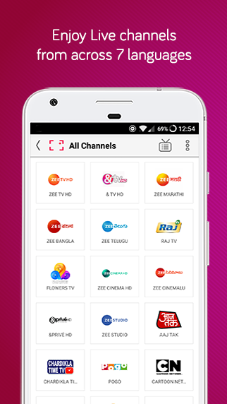 dittoTV: Live TV Shows, News & Movies- screenshot