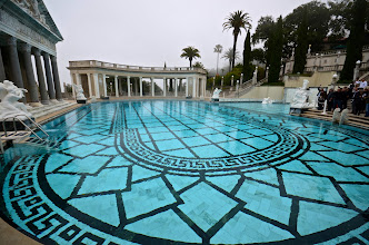Photo: 182. Hearst used this estate to show off his massive collection of European art, so authentic statues, paintings, and murals are all over the place. ... The outdoor pool you see here looks pretty inviting!