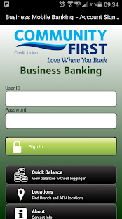 Community First CU Business- screenshot thumbnail