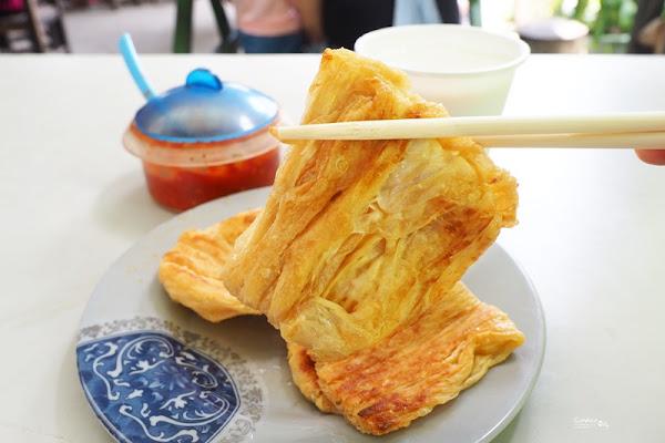 大池豆包豆皮豆漿店|超新鮮現做香煎豆皮,真的好吃(台東池上美食)