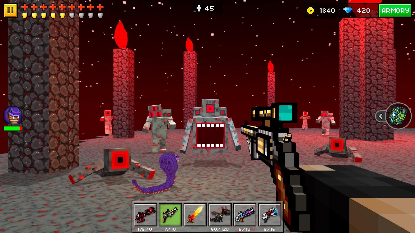 Screenshots of Pixel Gun 3D (Pocket Edition) for iPhone