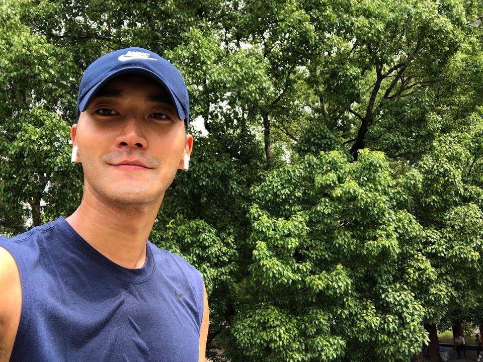 siwon jogging
