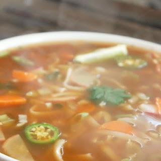 Fat Burning Spicy Thai Noodle Soup.