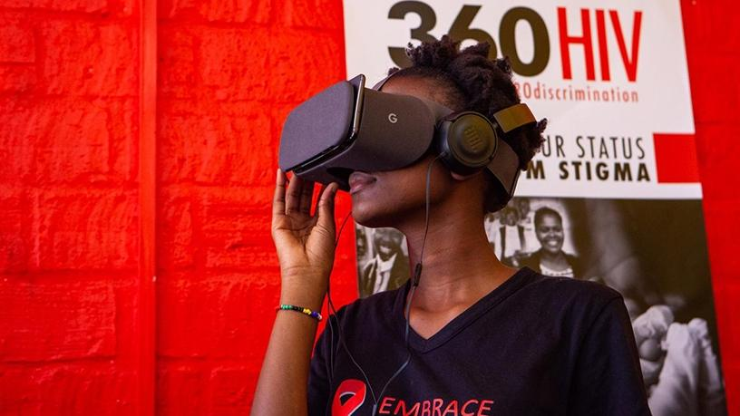 After watching the VR film, 94.8% of participants felt more likely to test for HIV.
