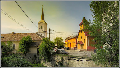 Photo: Str. George Coșbuc, vedere Str. Dacia - 2017.05.03