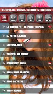 Tropických hudebních rozhlasových stanic - náhled