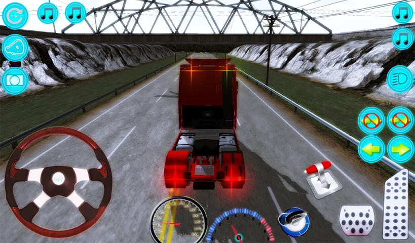 android Actros Truck Simlation Real ! Screenshot 11