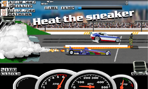 Burn Out Drag Racing Screenshot