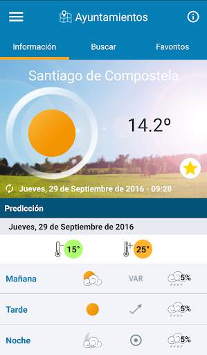 MeteoGalicia  screenshots 1