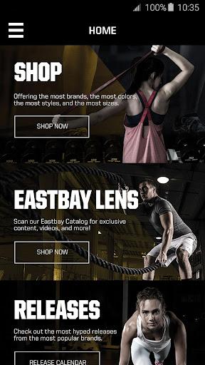Eastbay Screenshot
