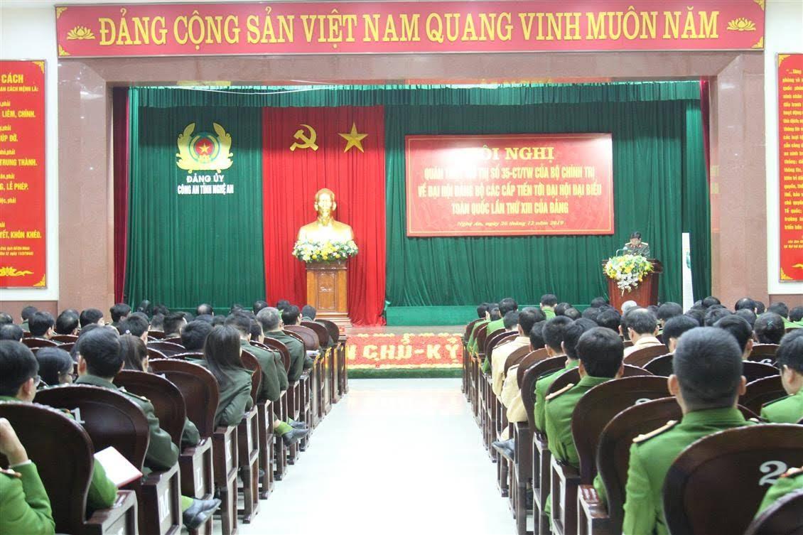Hội nghị đã tập trung quán triệt, triển khai các văn bản của Đảng về công tác đại hội đảng bộ các cấp.