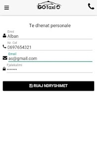 GoTaxi Albania- screenshot thumbnail