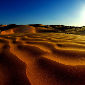 Tunisian Desert (2) by Amas Art - Landscapes Deserts ( sand, desert, tunisia, summer, africa )