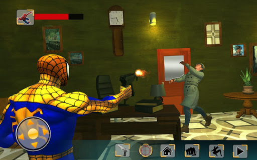Super Spider Hero Secret Mission:Spider Homecoming game (apk) free download for Android/PC/Windows screenshot