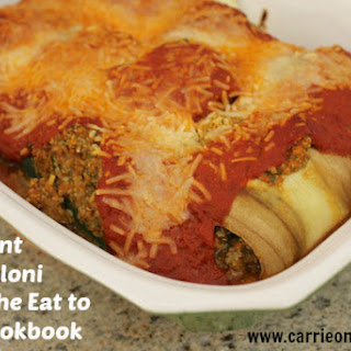 Eggplant Cannelloni.