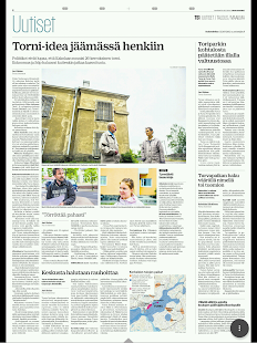 Turun Sanomat- screenshot thumbnail