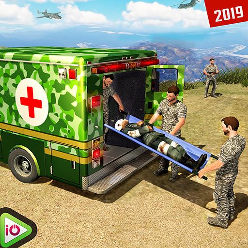 US Army Ambulance Driving Rescue Simulator