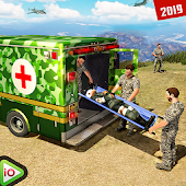 US Army Ambulance Driving Rescue Simulator Android APK Download Free By Play.io