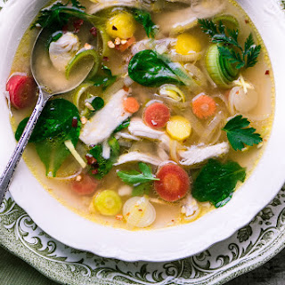 Not Your Grandma's Chicken Soup.