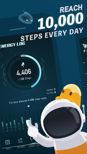 Walkr: Fitness Space Adventure screenshot 1