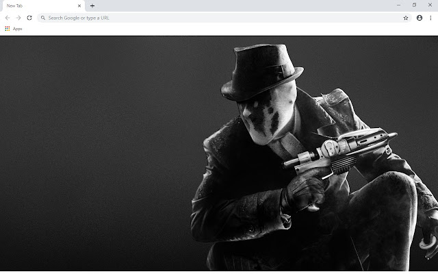 Rorschach New Tab & Wallpapers Collection