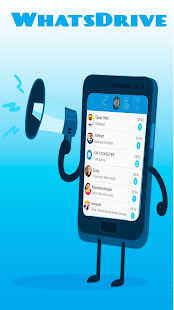 WhatsDrive Handsfree for WhatsApp messages - náhled