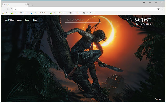 Shadow Of The Tomb Raider Wallpapers New Tab