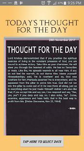 Download Sai Thoughts For PC Windows and Mac apk screenshot 1