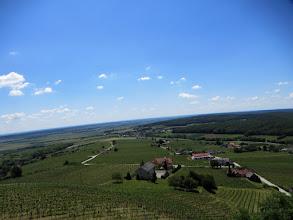 Photo: A vas-hegyi kilátóból nézelődünk.