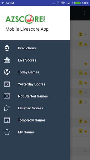 Azscore - Mobile Livescore App, Soccer Predictions 2.06 screenshots 1