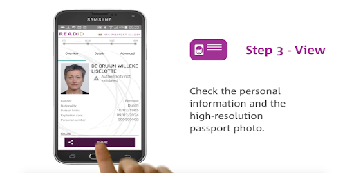 ReadID - NFC Passport Reader - Apps on Google Play