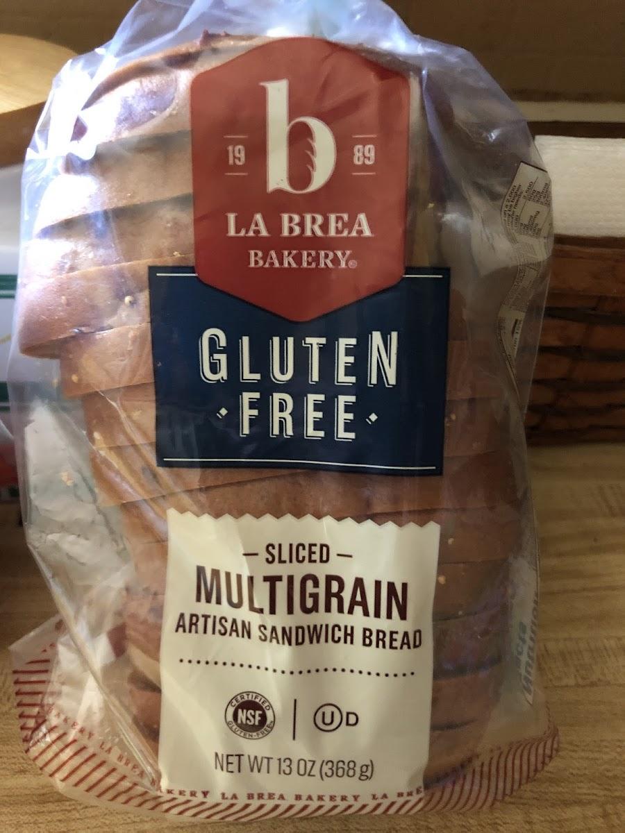 Sliced Multigrain Artisan Sandwich Bread