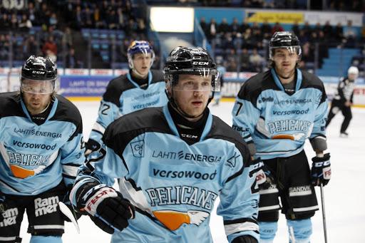 Aleksi Mustonen nautiskeli ottelussa kolme tehopistettä. (Kuva: Aku Rive)