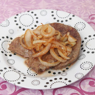 Fried Liver And Onions.