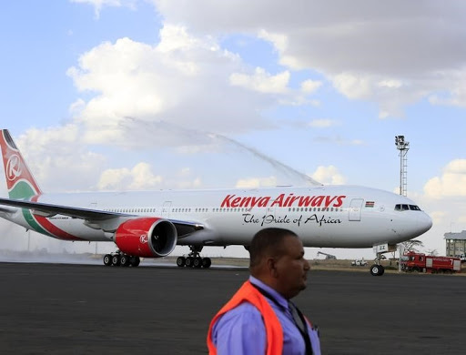 Kenya Airways. Picture: REUTERS