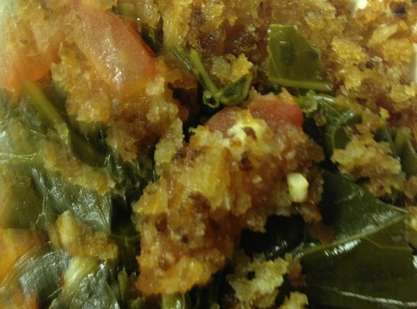 Tomato And Greens Casserole Recipe
