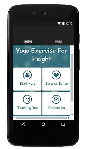 android Yoga Exercise For Height Screenshot 0