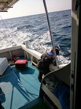 Photo: 「オエーッ!」 ・・・またまた、船酔い。