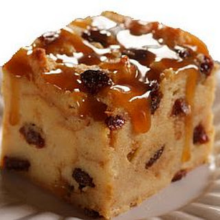 Light Amaretto Bread Pudding Recipe