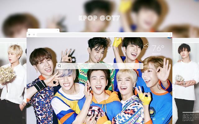 Kpop GOT7 HD Music Wallpapers New Tab