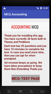 Accounting - MCQ - náhled