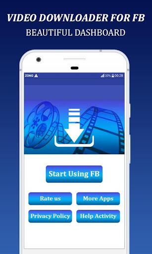 VideoDownloader For Facebook:HD Video Downloader 1.0 screenshots 2
