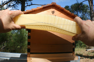 Photo: Flow hive beehive parts beekeeping review MahakoBees