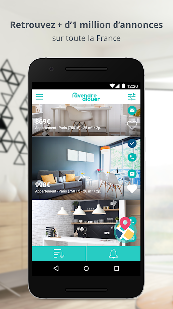 AVendreALouer - Immobilier Android App Screenshot