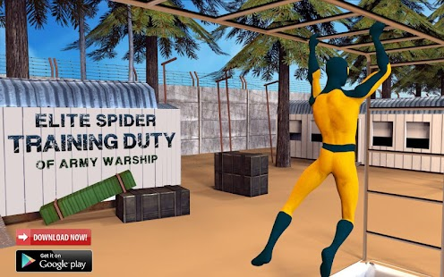 Elite Spider Training School Duty of Army Warship- screenshot thumbnail
