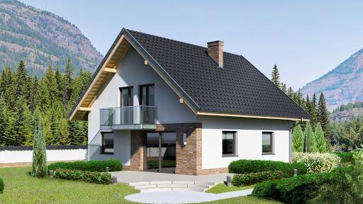 projekt Dom przy Oliwkowej NH