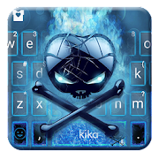Free Neon Apple Skull Keyboard Theme APK for Windows 8