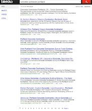Photo: Blekko.com Search Results 4-27-2012